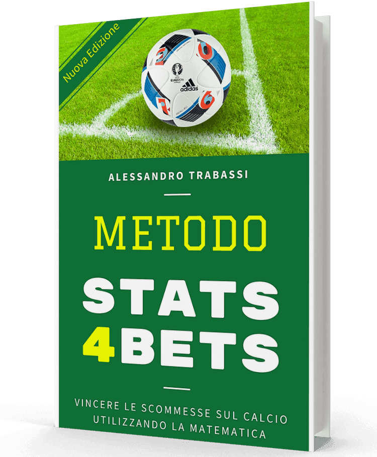 Metodo Stats4Bets: il più venduto libro di Betting in Italia