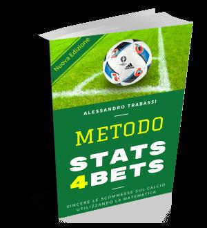 Metodo Stats4Bets: il più venduto libro di Betting in Italia