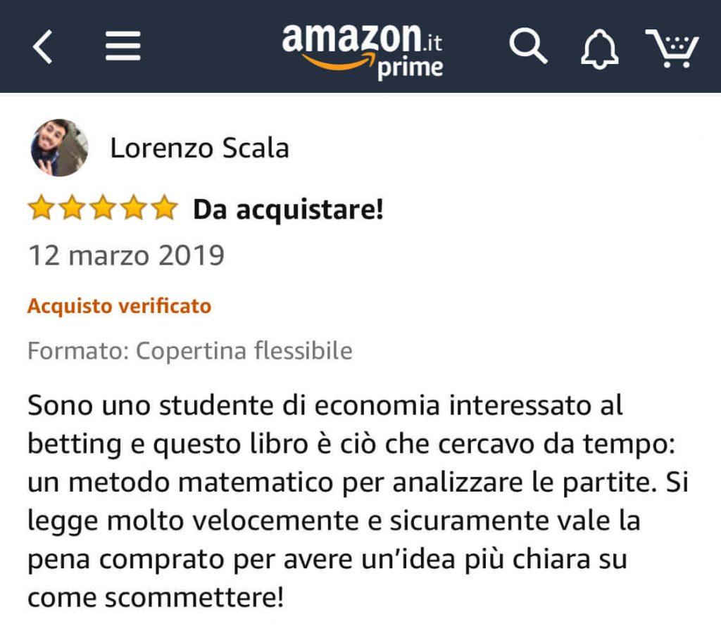 Recensione Amazon 5 stelle